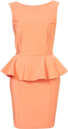 Love Peplum dresses!!