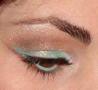 Battito di ciglia make - up: Make up di Capodanno scintillante