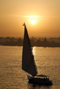 The Amazing Nile ( النيل) - The Nile River at sunset