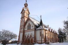 4544399-beautiful-wooden-church-in-the-town-kajaani-finland.jpg 1,200×801 pixels