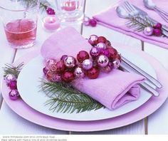 pink #christmas decor