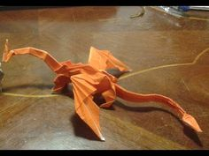 "Origami - How to make an origami dragon - intermediate level - ""MUKONO DRAGON"" - YouTube"