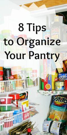 8 Tips and Tricks to Organize Your Pantry. www.organizingguru.com