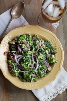 classic broccoli-raisin salad