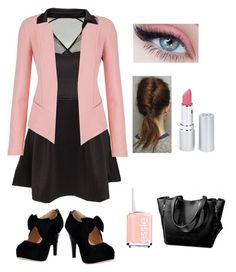 """Pink workwear"" by lewiskate-1 on Polyvore featuring maurices, HoneyBee Gardens and Essie"