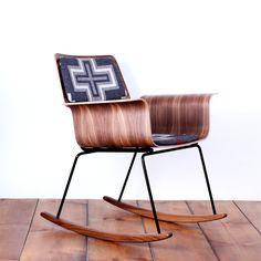 Really beautiful wood veneer rocker chair Roxy rocker By One Forty Three
