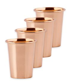 Not just for mint juleps on the porch. Super stylish and versatile, these metallic vessels can be used for anything from fresh flower arrangements on your table, makeup brushes on your vanity, or (le) pens on your desk.