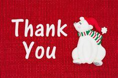 christmas thank you image