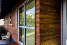 California home remodel strives for warmth and functionality with cohesive use of reSAWN TIMBER co.'s TORA & DORO shou sugi ban charred cypress. Wood Cladding, Wood Siding, Exterior Siding, Red Oak, White Oak, Charred Wood, House Siding, Western Red Cedar, California Homes