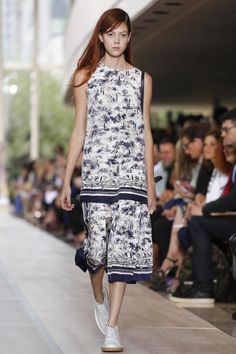 @ToryBurch Ready-To-Wear Spring Summer 2015 #NYFW