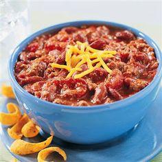 Jennie Craig Tex-Mex Chili Recipe.