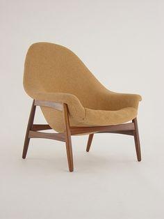 Danish Modern Bramin Denmark Lounge Chair possibly designed by Hans Olsen
