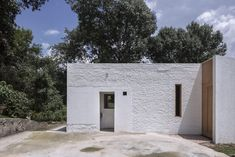 A Simple Solution that Offered More Privacy to the Inhabitants of this House