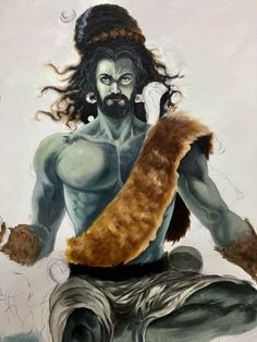 Lord Shiva Pics, Mythology, Art Drawings, Spirituality, Male Body, Artwork, Passion, Painting, Indian