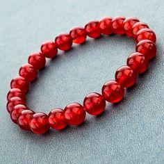 Natural Marble Stone Bead Bracelets