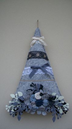 Denim Christmas Tree: