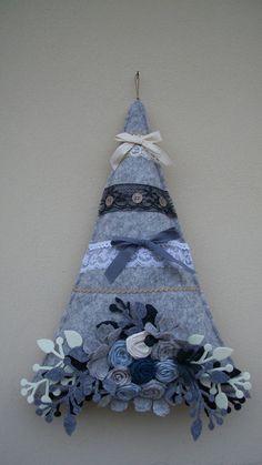 Denim Christmas Tree: