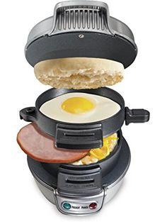 Hamilton Beach 25475A Breakfast Sandwich Maker ❤ Hamilton Beach
