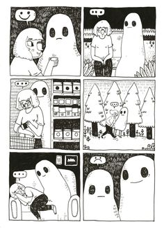 *SIGH*From The Sad Ghost Comic Book ZineNew Store//facebook//instagram//twitter