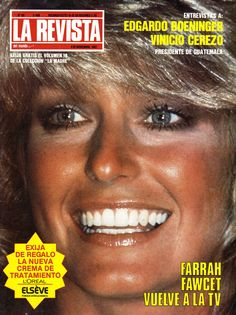 Farrah magazine cover.