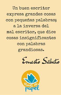 Cita de Ernesto Sábato