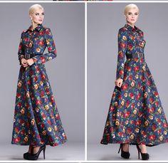 vintage maxi dress - Google'da Ara   Vintage Dresses   Pinterest ...