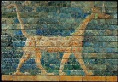 Relieve de baldosas babilónica.
