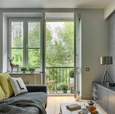 salon moderne gris ameublement