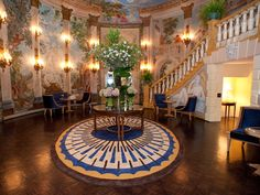 Off the Italian mainland on the island of Capri, you'll find the Capri Palace high in the hills. The lobby features an eccentric mix of Louis the XVI chairs, Venetian lamps and 3-D pop art. Worth the splurge: The wine cellar at the Capri Palace has almost 10,000 bottles to choose from, talk about la dolce vita! More Mediterranean Coast hotels: The Splendido, Portofino, Italy; La Posta Vecchia, Rome; Hotel Katikies, Santorini, Greece; The Caruso, Ravello, Italy; Palazzo Sasso, Ravello…
