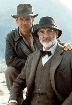 My dad loved Indiana Jones.  I like to think this is a fantasy portrait of the two of us.