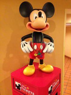 Mickey loved Mardi Gras!