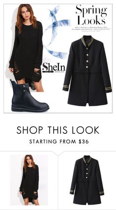 """""""Shein 2/10"""" by zina1002 ❤ liked on Polyvore featuring WithChic and H&M"""