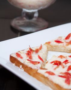 Shahi Gajrella An innovative use of the ever delicious gajrella with french toast style breads.