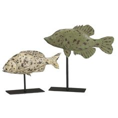 I pinned this 2 Piece Fish Sculpture Set from the Sedgefield by Adams event at Joss and Main!