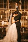 Best wedding kiss ever!  Fort Worth Wedding at Mainstay Farm from smitten photography | Style Me Pretty