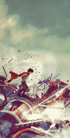 Tetsuo!!! Kaneda!!! Limited Edition Print Set - Created by Chris SkinnerPrints available for sale at the Artist's Shop.