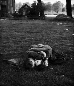 Hyde Park London 1944  Photo: Ralph Morse