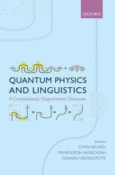 Quantum physics and linguistics : a compositional, diagrammatic discourse / edited by Chris Heunen, Mehrnoosh Sadrzadeh, Edward Grefenstette. 2013. Mais información: http://www.oxfordscholarship.com/view/10.1093/acprof:oso/9780199646296.001.0001/acprof-9780199646296