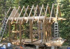 The Timber-Framed Cabin Project (Part 1, April - September 2006)