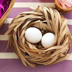 Paper Easter Basket Decoration