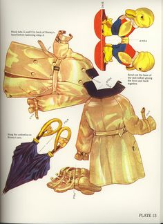 Classic Shirley Temple Paper Dolls, edited by Grayce Piemontesi - Dover Publications Inc., 1986: Plate 13 (of 16)