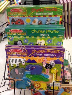 We also have easier puzzles for the younger kiddos!