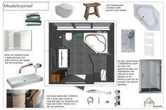 Meubels badkamer advies - hoekbad - inloopdouche - Su Casa Interieuradvies