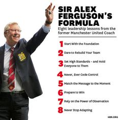 As much as I hate Man Utd, you have to admire what Sir Alex Ferguson did for them.