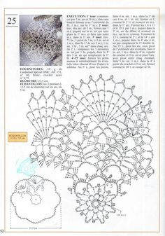 Crochet Doily diagram....looking at the design and seeing candlewicking