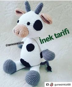 New and Trend Amigurumi Bear Crochet Pattern Ideas Part 53 - Hayat Kisa Tutorial Amigurumi, Amigurumi Patterns, Crochet Patterns, Hello Kitty Amigurumi, Amigurumi Doll, Crochet Baby Toys, Crochet Animals, Amigurumi For Beginners, Tiny Dolls