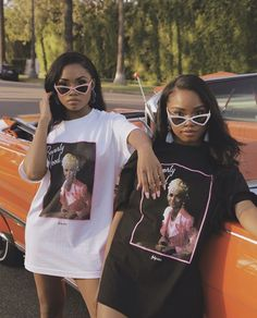 Join the Blang Gang with our oversized tee Matching Outfits Best Friend, Best Friend Outfits, Go Best Friend, Best Friend Pictures, Best Friend Goals, Bff Goals, Best Friend Photography, Girl Outfits, Cute Outfits