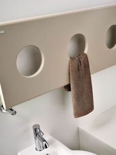 In this post you will find the information and pictures about Towel radiator electric - Modern bathroom heating method, bathroom accessories, useful tips, etc. Bathroom Fireplace, Bathroom Radiators, Bathroom Toilets, Bathroom Faucets, Contemporary Bathrooms, Modern Bathroom, Warm Bathroom, Bathroom Inspo, Hydronic Heating