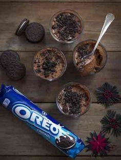 Ποτηράκια με OREO, σοκολάτα και αμύγδαλα | Γλυκά, Γλυκά με Oreo | Athena's Recipes Food To Make, Sweets, Sugar, Chocolate, Desserts, Recipes, Oreos, Cup Cakes, Salt