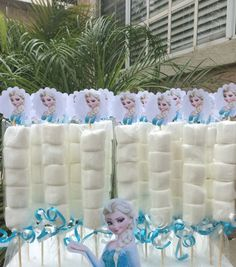 Disney Frozen Elsa Marshmallow Favors by FantastikCreations